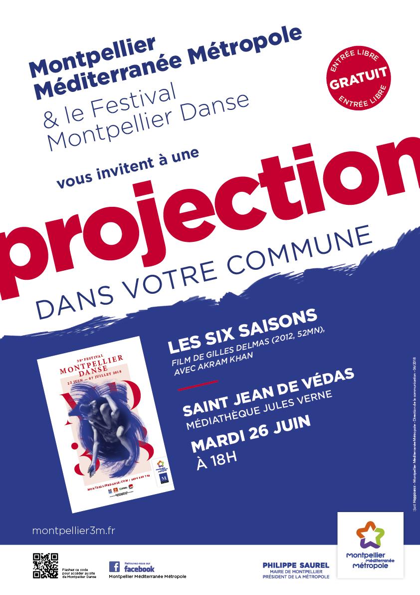 Projection à Saint Jean de Védas