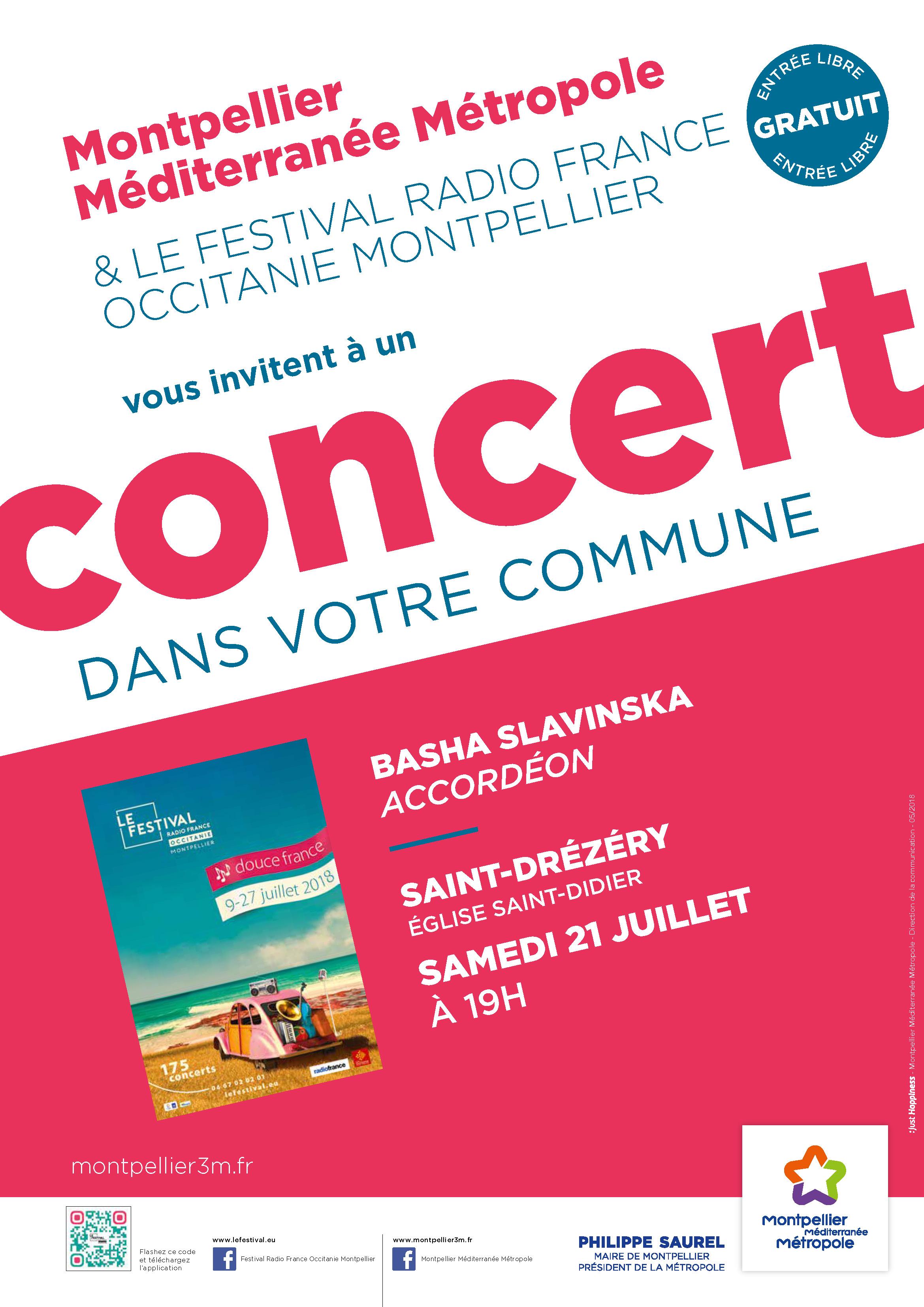 Festival Radio France Occitanie Montpellier   BASHA SLAVINSKA