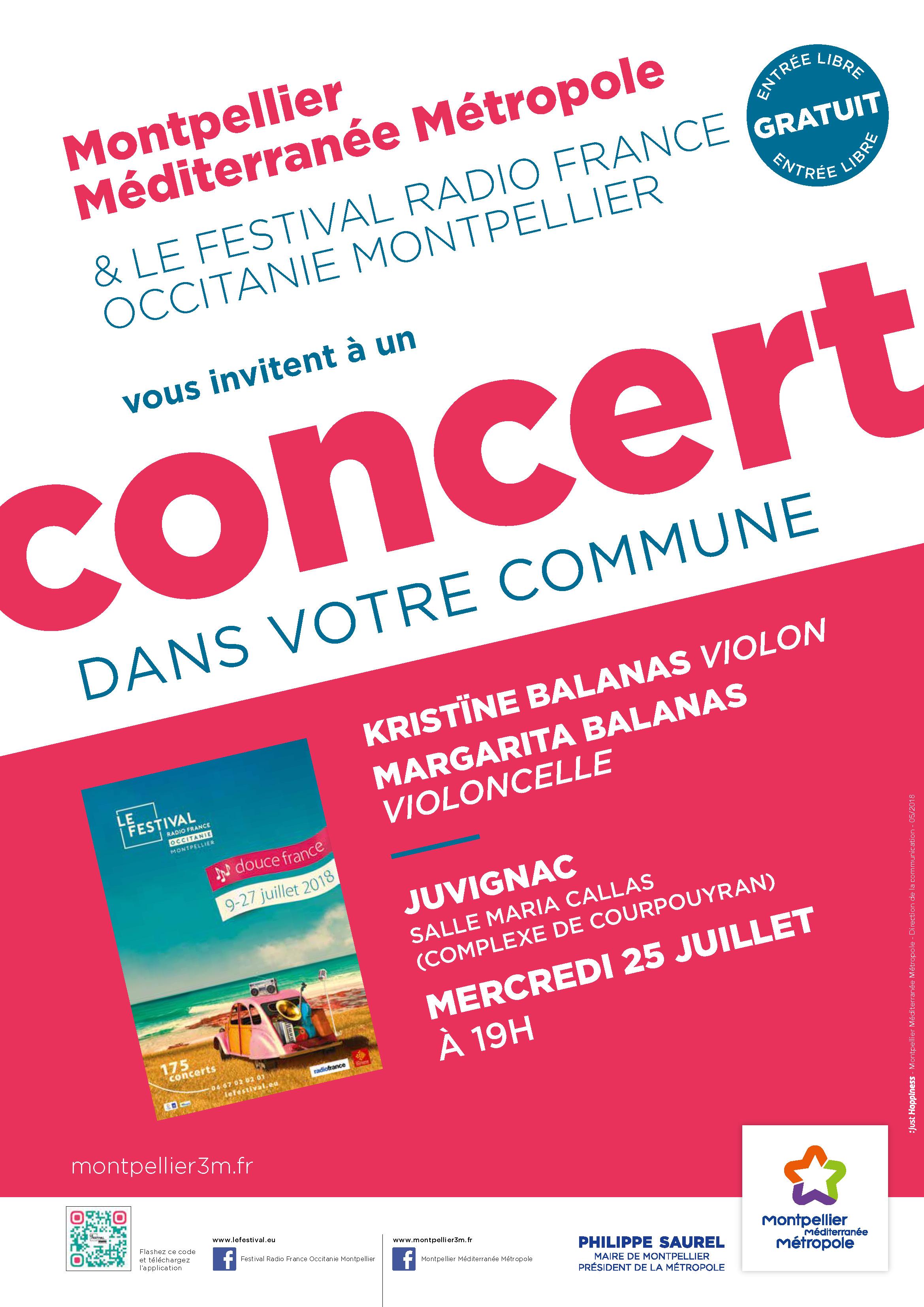 Festival Radio France Occitanie Montpellier | KRISTÏNE BALANAS et MARGARITA BALANAS