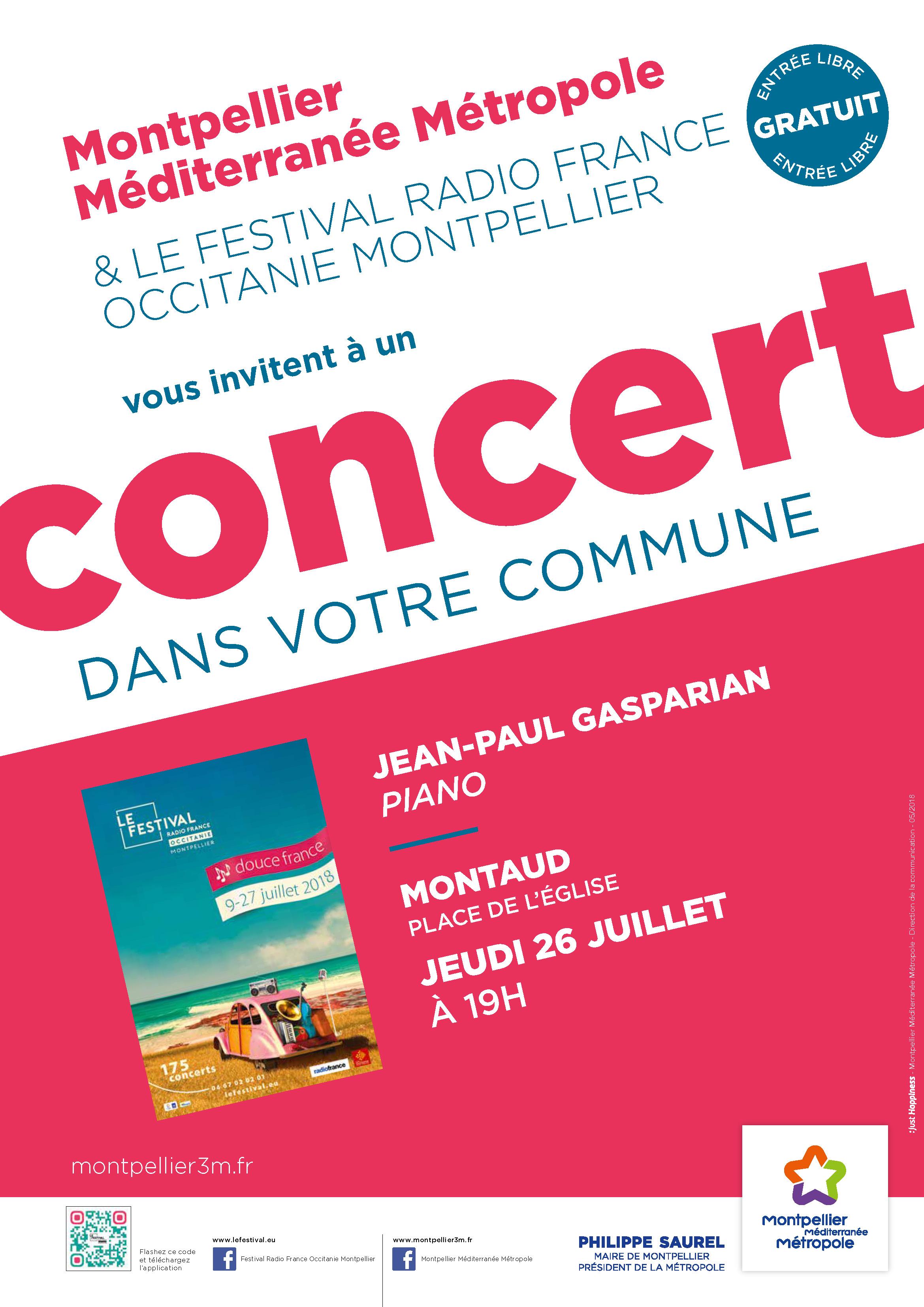 Festival Radio France Occitanie Montpellier | JEAN-PAUL GASPARIAN