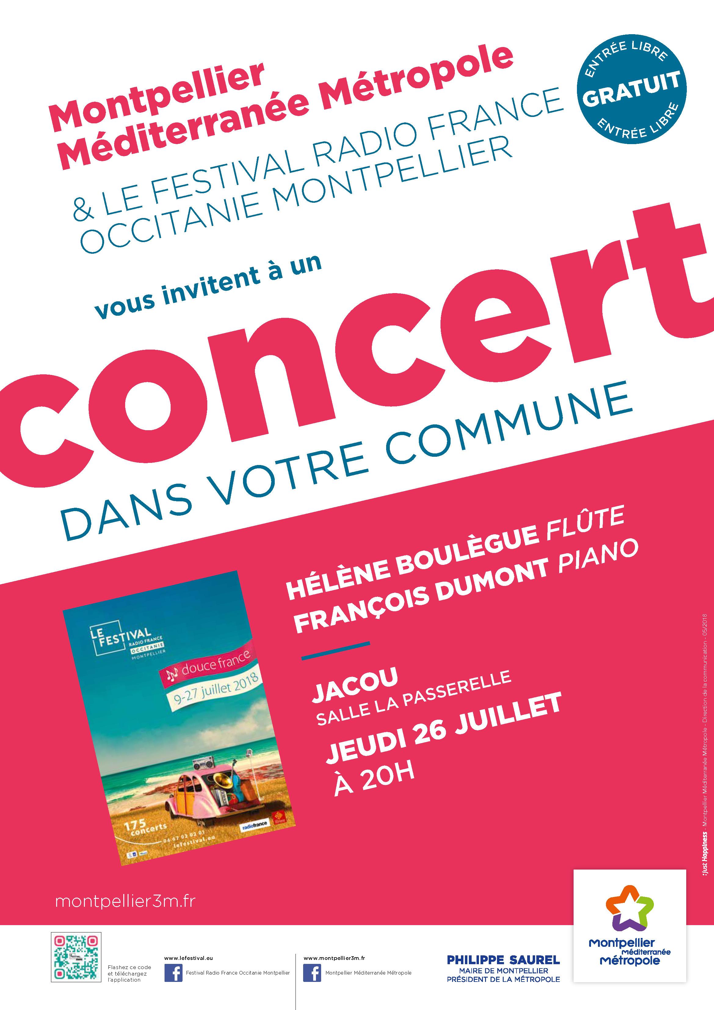 Festival Radio France Occitanie Montpellier   HÉLÈNE BOULÈGUE et FRANÇOIS DUMONT