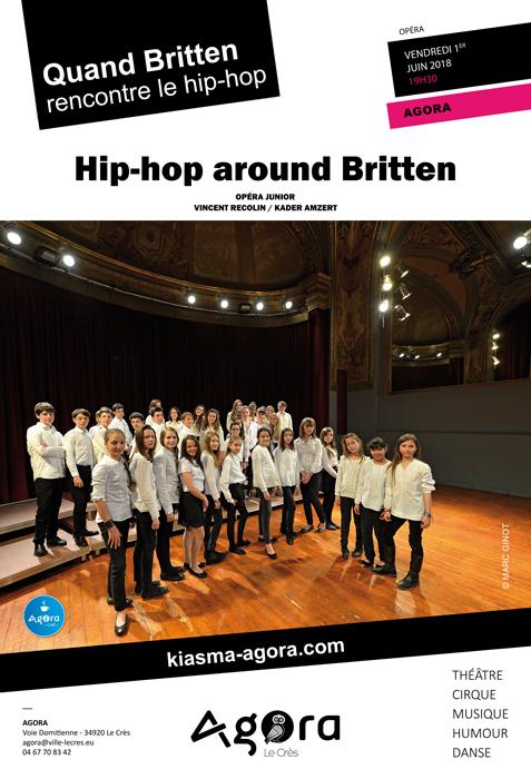Hip-hop around Britten Agora Le Crès
