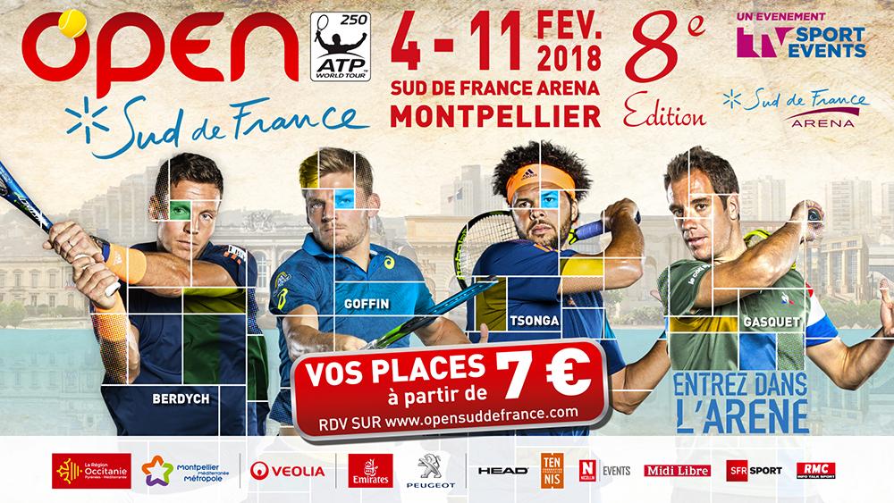 Open sud de france 2018