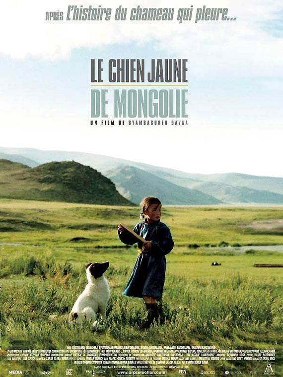 Le chien jaune de Mongolie