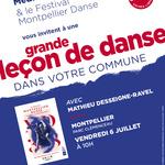 Grande leçon de danse au parc Clémenceau