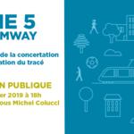 5è Réunion publique de concertation sur le tracé de la ligne 5