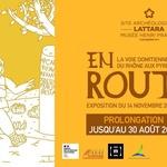 """Exposition """"En route : la voie domitienne du Rhône aux Pyrénées"""""""