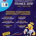 """Affiche """"En route vers la Coupe du monde féminine FIFA France 2019"""""""