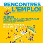 Rencontres pour l'emploi Castries 2018