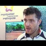 Embedded thumbnail for Interview de Michaël Berrer,  premier qualifié pour les quarts de finale de l'Open Sud de France