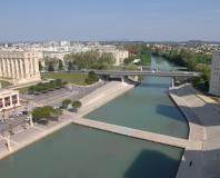 Montpellier - les rives du Lez