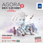 Affiche Agora des savoirs 2016