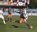 Les joueuses du Montpellier Hérault SC