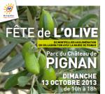 Fête de l'Olive de Montpellier Agglomération à Pignan dimanche 13 octobre
