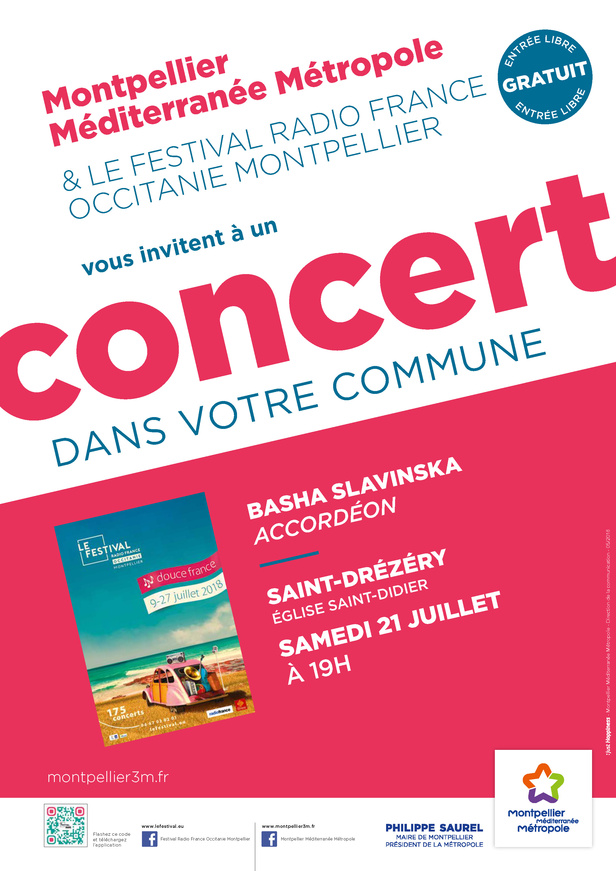 Festival Radio France Occitanie Montpellier | BASHA SLAVINSKA