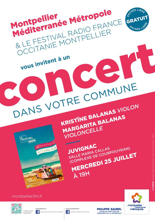 Festival Radio France Occitanie Montpellier   KRISTÏNE BALANAS et MARGARITA BALANAS