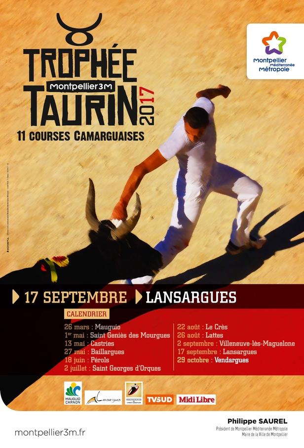 Trophée taurin Montpellier 3M Lansargues