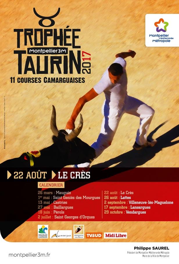 Trophée taurin Montpellier 3M Le Crès