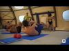 Embedded thumbnail for Entraînement sportif à la piscine